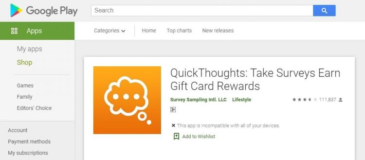 QuickThoughts download